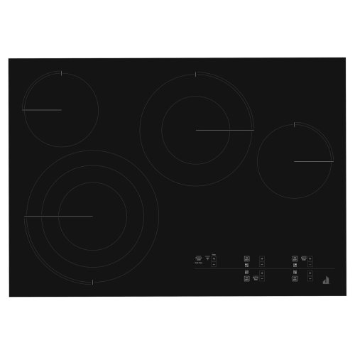 """Oblivian Glass 30"""" Electric Radiant Cooktop with Glass-Touch Electronic Controls Black"""