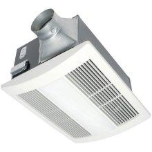 WhisperWarm Lite - Quiet, Fan/Heater/Light Solution, 110 CFM