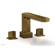 DIAMA Deck Tub Set - Blade Handles 184-40 - French Brass