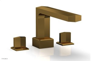 DIAMA Deck Tub Set - Blade Handles 184-40 - French Brass Product Image