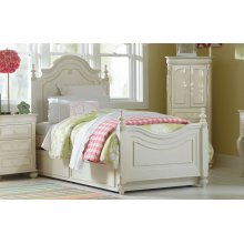Charlotte Low Poster Bed Twin