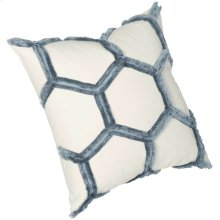 """Luxe Pillows Eyelash Honeycomb (22"""" x 22"""")"""