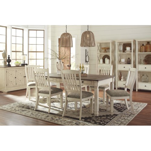 Outstanding Bolanburg Antique White 5 Piece Dining Room Set Camellatalisay Diy Chair Ideas Camellatalisaycom