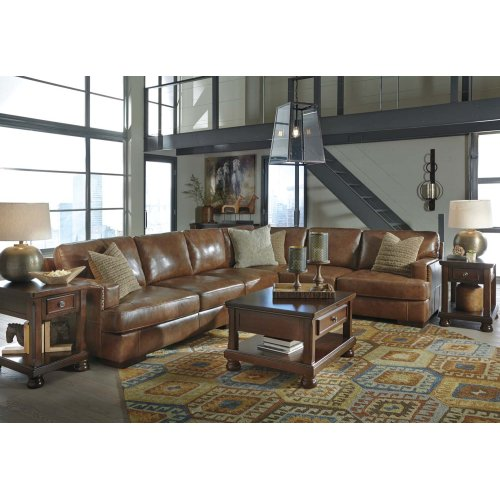 Vincenzo - Nutmeg 2 Piece Sectional