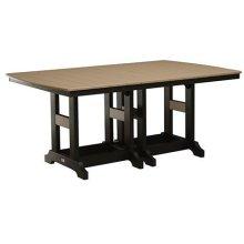 """44"""" x 72"""" Rectangular Bar Table"""