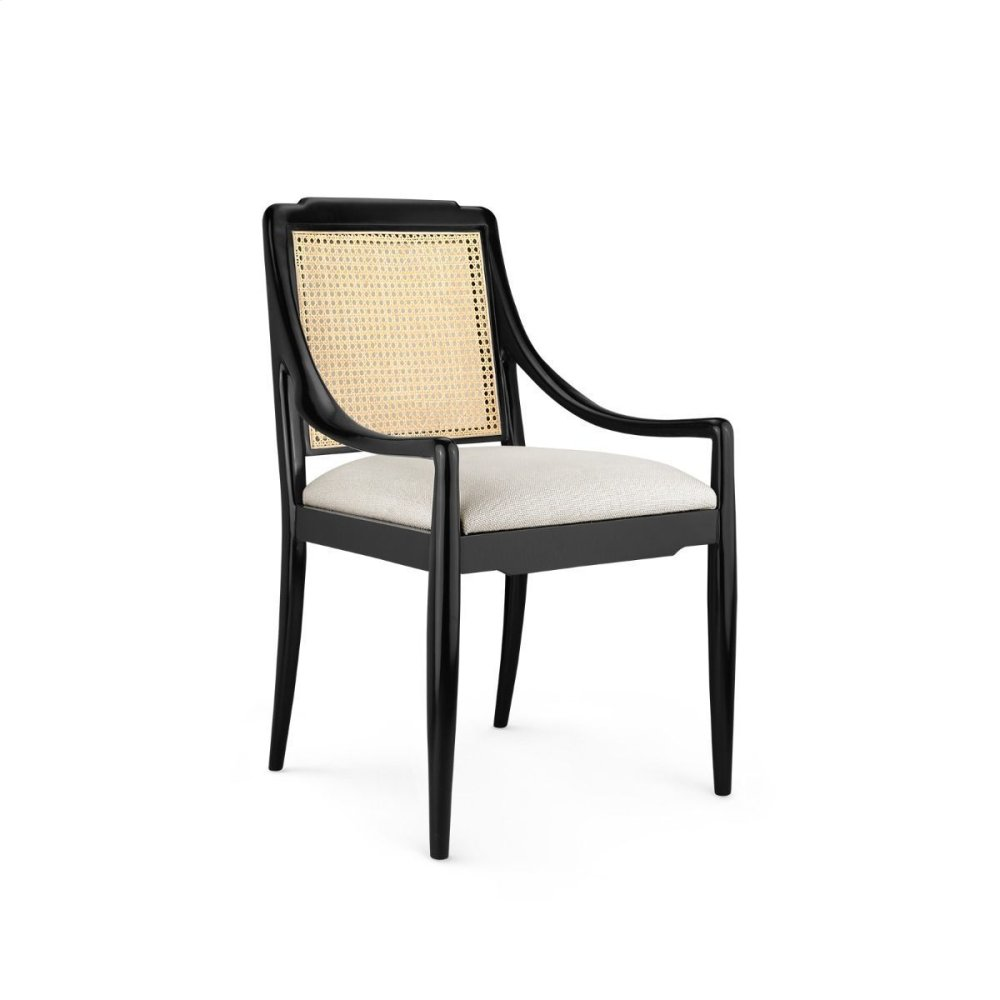 Veronika Armchair, Black