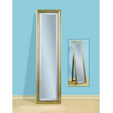 Gold Finish Standing Mirror 16x62