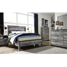 Baystorm - Gray 2 Piece Bed Set (Full)