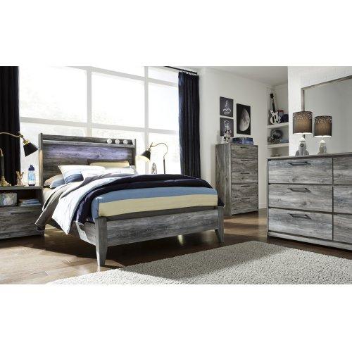 Baystorm - Gray 2 Piece Bed Set (Full)