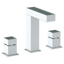 Deck Mounted Extended 3 Hole Lavatory Set