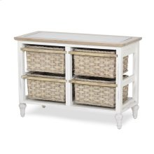4-Basket Horizontal Storage Cabinet