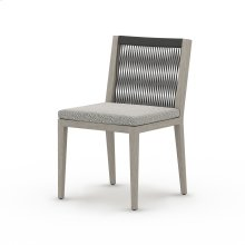 Faye Ash Cover Sherwood Outdoor Dining Chair, Weathered Grey