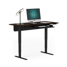 6853 Lift Standing Desk in Toasted Walnut