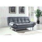 Dilleston Contemporary Dark Grey Sofa Bed Product Image