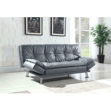 Dilleston Contemporary Dark Grey Sofa Bed
