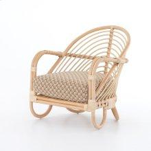 Noma Natural Cover Marina Chair, Natural Rattan