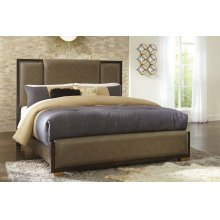 Chaliene - Brown 3 Piece Bed Set (Cal King)