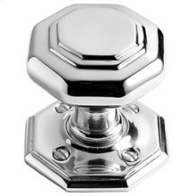 Chrome Plate Octagonal unsprung door knob