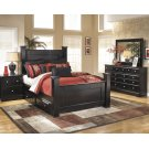 Shay - Almost Black 6 Piece Bedroom Set Product Image