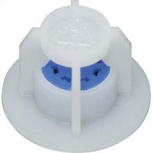 Pressure compensating laminar flow control spout assembly with multiple spout inserts, adds flow control to gooseneck spout