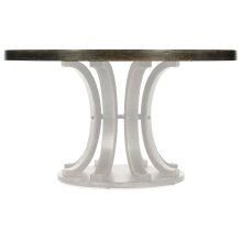 Dining Room Crafted 54in Round Dining Table Top