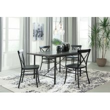 Minnona - Multi 5 Piece Dining Room Set