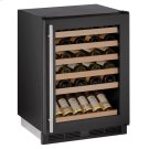 "24"" Wine Refrigerator With Black Frame Finish (115 V/60 Hz Volts /60 Hz Hz) Product Image"