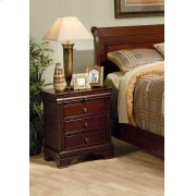 Versailles Three-drawer Nightstand With Tray Product Image