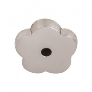 Aspen II Flower Backplate 1 Inch - Brushed Satin Nickel Product Image