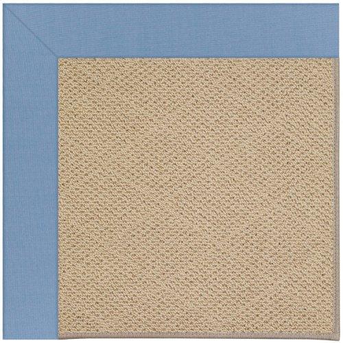 Creative Concepts-Cane Wicker Canvas Air Blue Machine Tufted Rugs