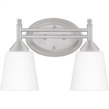 Billingsley Bath Light in Brushed Nickel