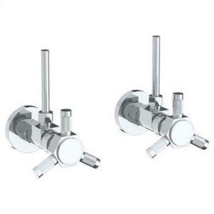 "Lavatory Angle Stop Kit -1/2"" Compression X 3/8"" Od Compression Product Image"