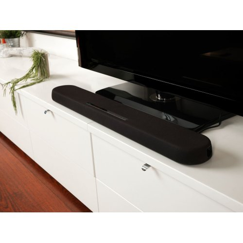 YAS-108 Black Sound Bar with Built-in Subwoofers