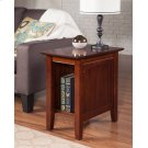 Nantucket Chair Side Table Walnut Product Image