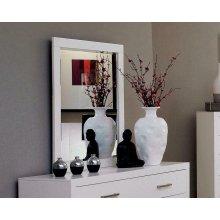 Jessica White Dresser Mirror