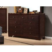 Conner Casual Cappuccino Nine-drawer Dresser Product Image