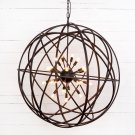 Tennyson Large Chandelier-rust Product Image