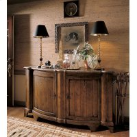 Town & Country Somerset Credenza With Brown Marble Top Product Image