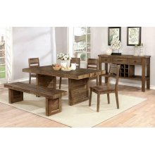 Tucson Rustic Varied Natural Dining Table