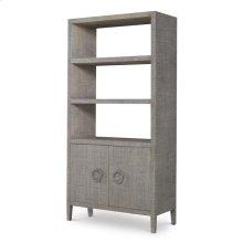 Charleston Bookcasefrench Grey (pv400210)