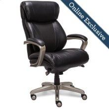 Salerno Executive Office Chair, Black
