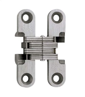 Model 101SS Stainless Steel Invisible Hinge Satin Stainless Steel Product Image