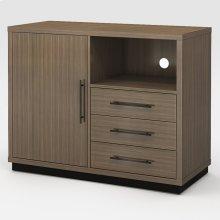Microfridge/Dresser Left
