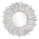 Durango Round White Mirror Product Image