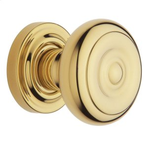 Lifetime Polished Brass 5005 Estate Knob Product Image