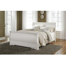 Queen Sleigh Footboard and Rails
