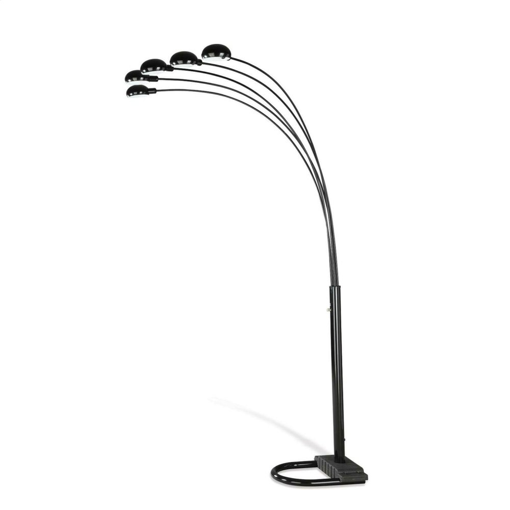 Contemporary Black Floor Lamp