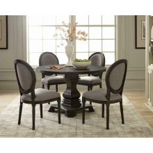Dayton European Traditional Black Dining Table