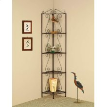 Copper Corner Bookcase