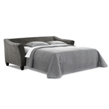 6485 KENDRICK:Sleep Sofa in Albany Slate /Bubbles Ink / Jade Navy (MFG# 6485)